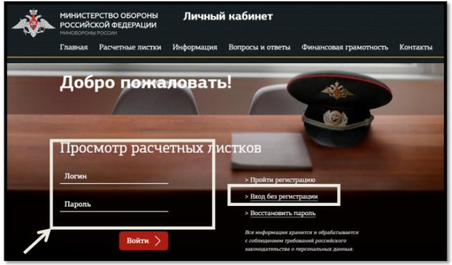 Mil ru личный кабинет вход